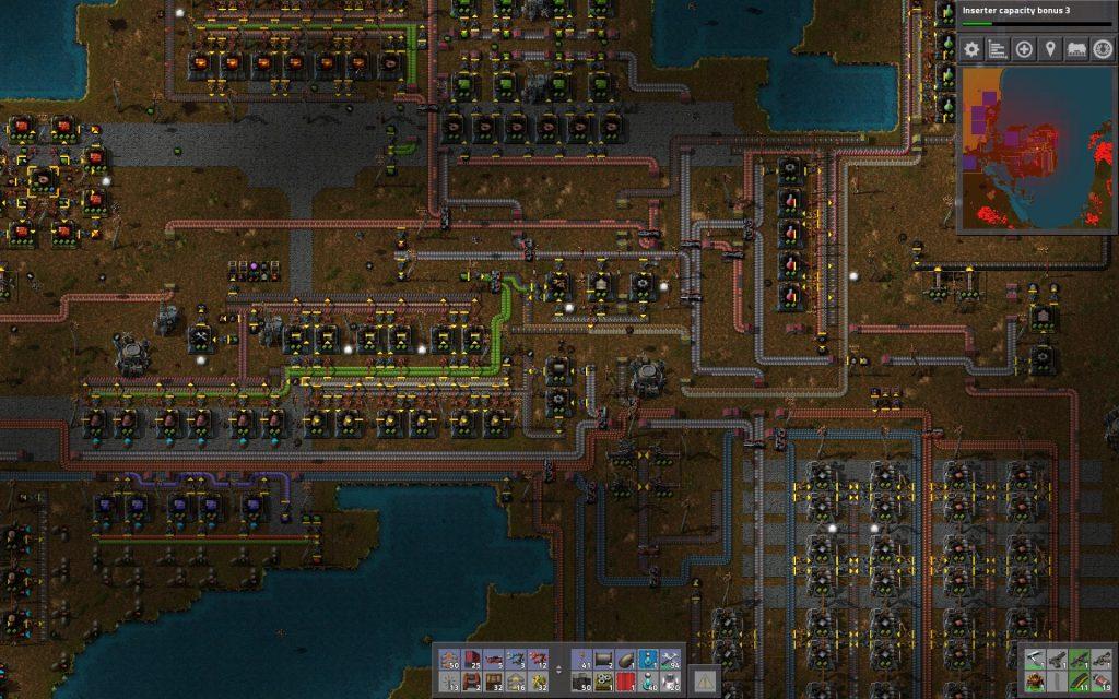 Factorio Spaghetti